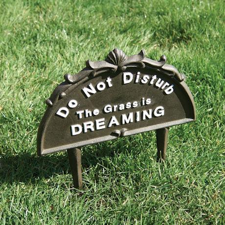 Do Not Disturb Lawn Sign