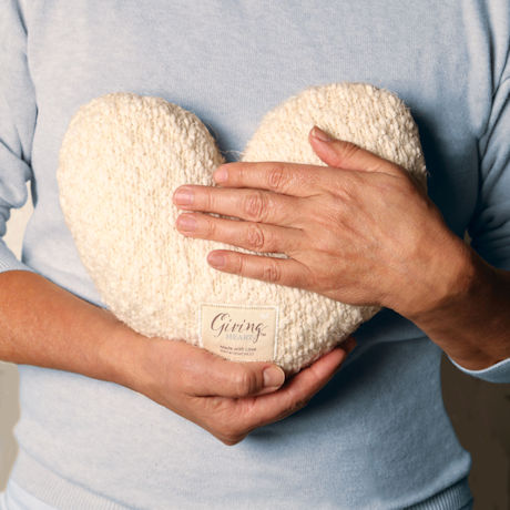 Giving Heart Weighted Pillow