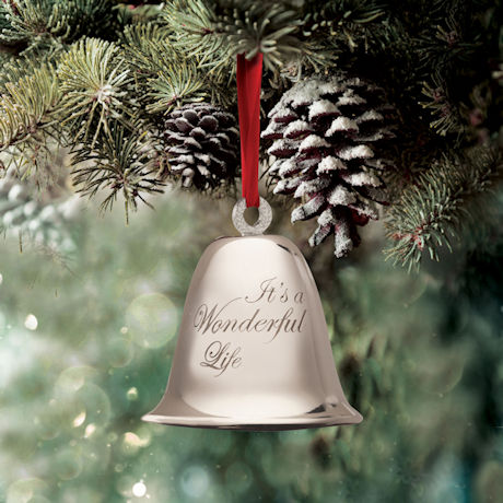"""""""It's a Wonderful Life"""" Bevin Bell Christmas Ornament"""