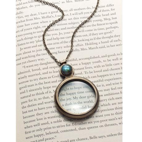 Labradorite Magnifier Necklace