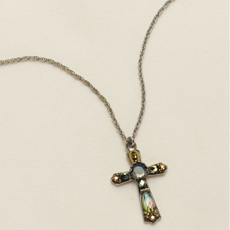 Ayala Bar Cross Necklace