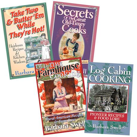 Vintage Recipe Books - Set of 4