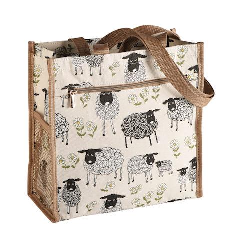 Spring Lambs Tapestry Tote Bag