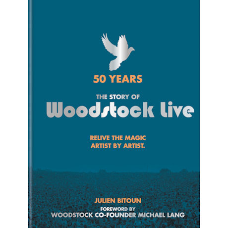 Woodstock Live Book by Julien Bitoun