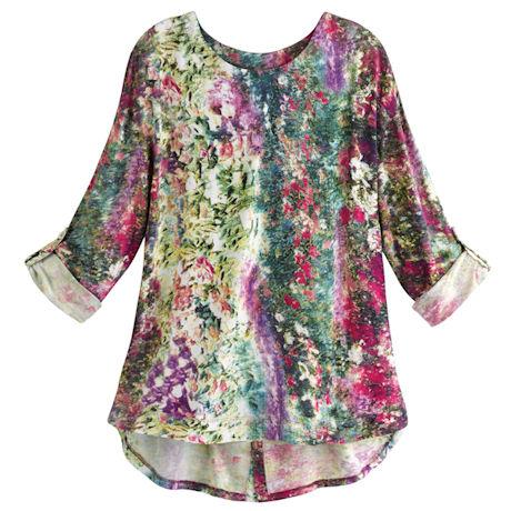 Monet's Garden Tunic