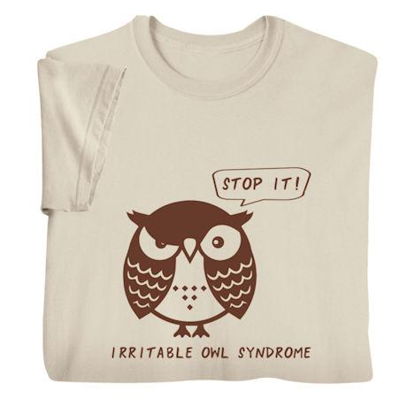Irritable Owl Shirts