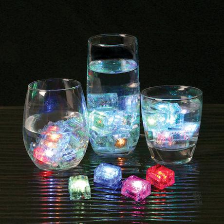 GloCubes Light-Up Drink Cubes - Set of 12