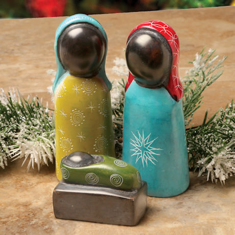 Soapstone Nativity Scene Set
