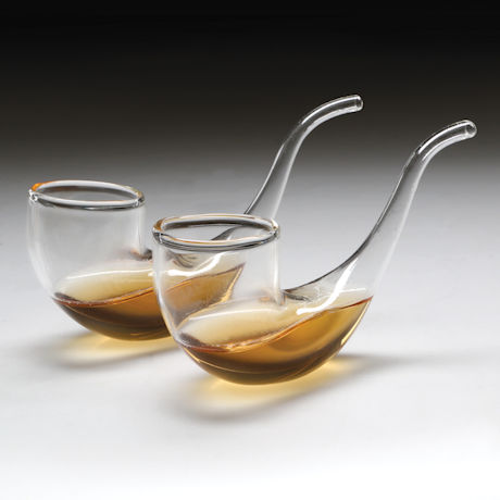 Pipe Sipping Glasses - Set of 2