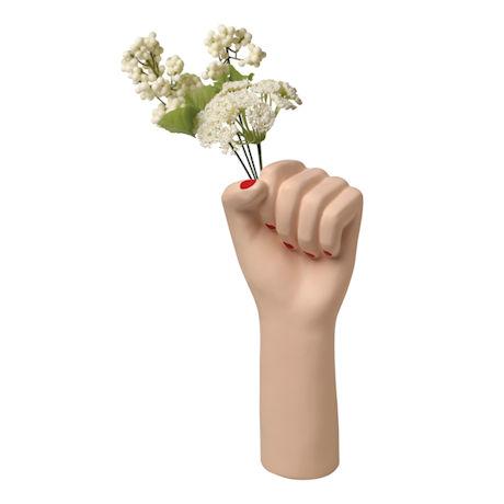 Girl Power Fist Vase