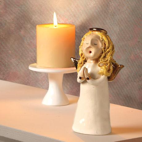 Ceramic Angel Candle Snuffer