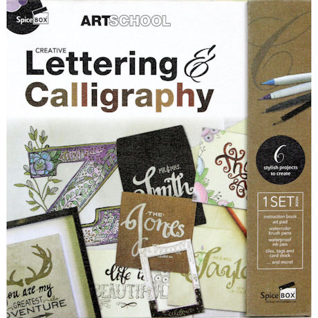 Creative Lettering and Calligraphy Kit