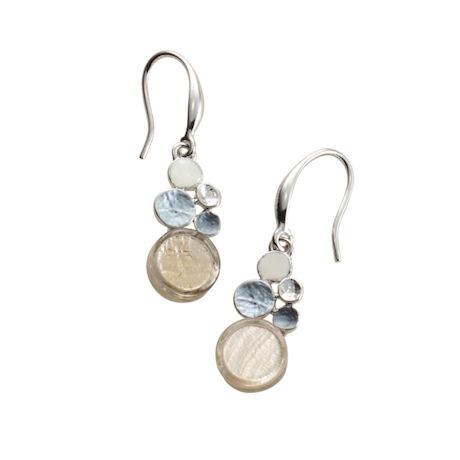 Capiz Shell Mod Earrings