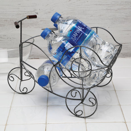 Old-Fashioned Bicycle Wire Basket