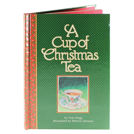 A Cup of Christmas Tea Book - Signed Vintage Edition