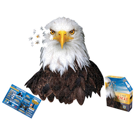 I Am Animal Puzzle - Eagle