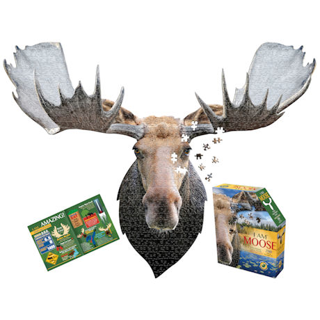 I am Animal Puzzle - Moose