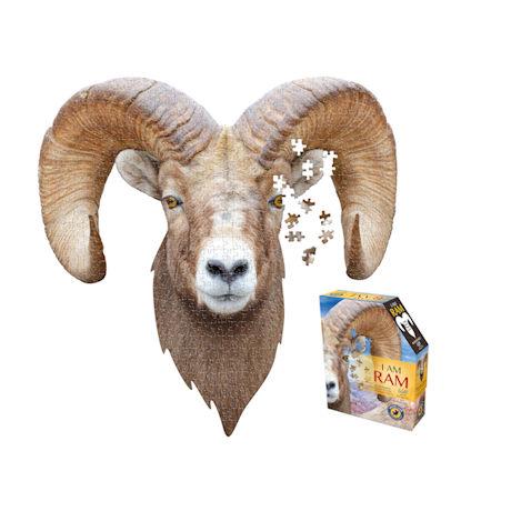 I am Animal Puzzle - Ram