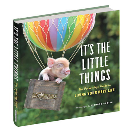 It's the Little Things: The Pocket Pigs Guide to Living Your Best Life Book and Poster