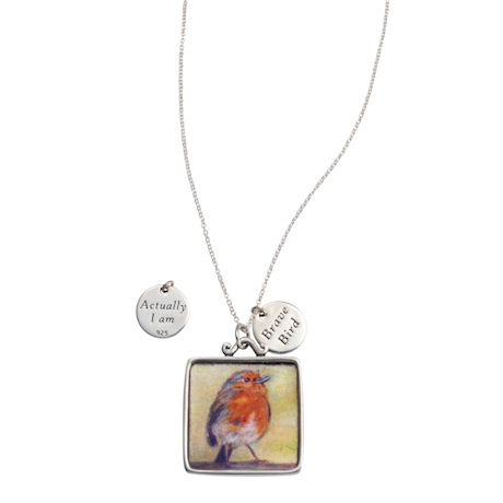 Brave Bird Pendant Necklace
