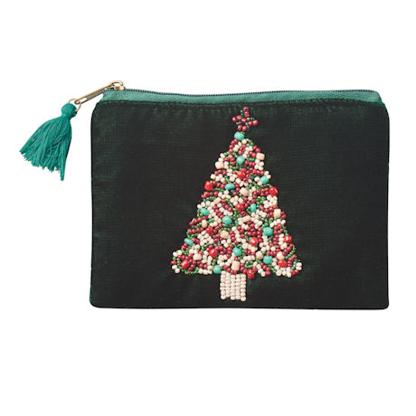 Velvet Holiday Coin Purses