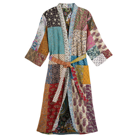 Silk Saris Robe