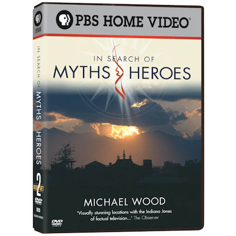 Michael Wood: In Search of Myths and Heroes DVD 2PK