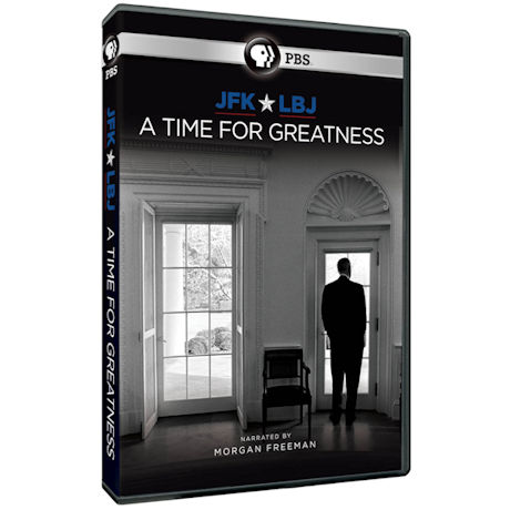 JFK & LBJ: A Time for Greatness DVD