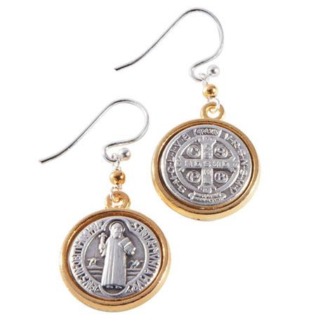 Benedictine Blessing Earrings