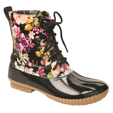 Rosetta Mid-Calf Duck Boot