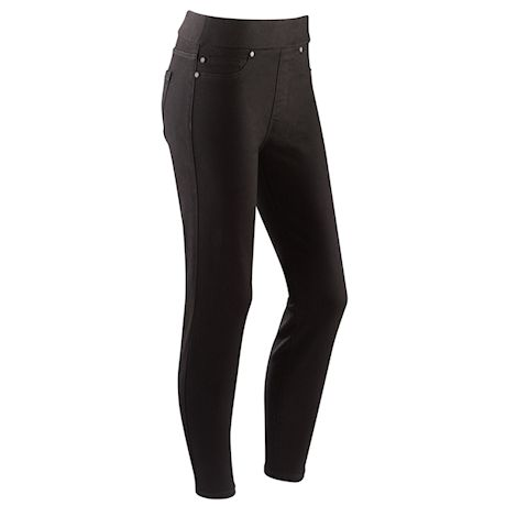 Liverpool Pull-On Ankle Length Denim Pants