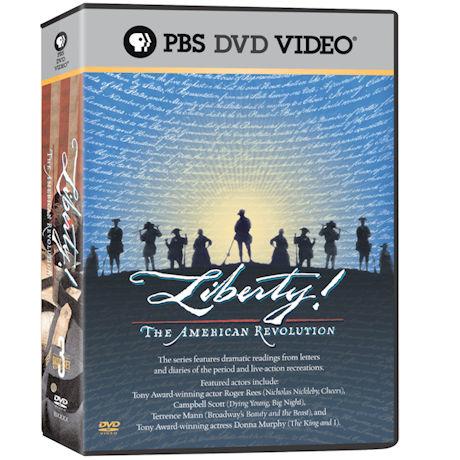 Liberty! The American Revolution DVD 3PK