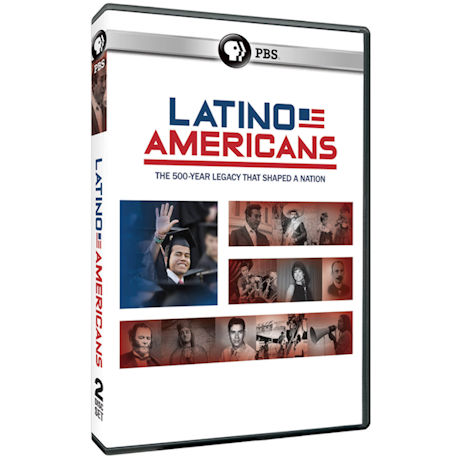 The Latino Americans DVD