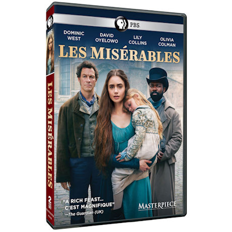 Masterpiece: Les Miserables DVD & Blu-ray