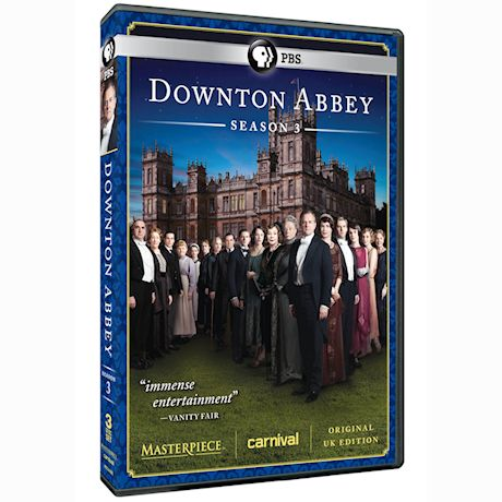 Masterpiece: Downton Abbey Season 3 (Original UK Edition)