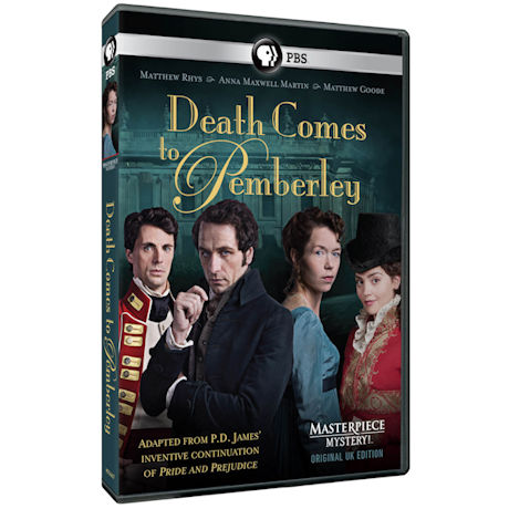 Masterpiece Mystery: Death Comes to Pemberley (Original UK Edition)  DVD & Blu-ray