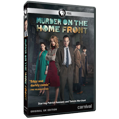 Murder on the Home Front (Original UK Edition) DVD & Blu-ray