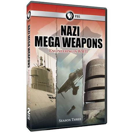 Nazi Mega Weapons Season 3 DVD