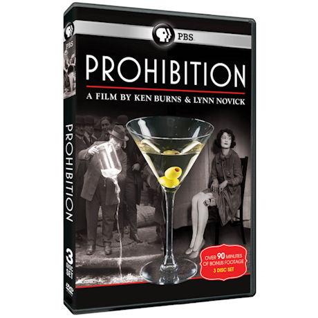 Ken Burns: Prohibition  DVD & Blu-ray