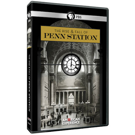 American Experience: The Rise and Fall of Penn Station DVD
