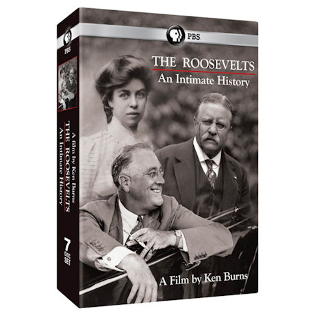 Ken Burns: The Roosevelts: An Intimate History  DVD & Blu-ray