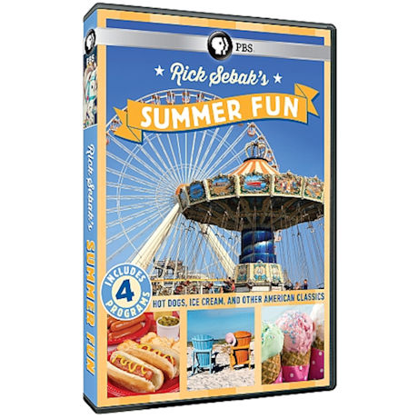 Rick Sebak's Summer Fun DVD