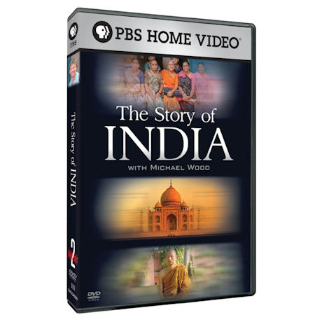 The Story of India DVD