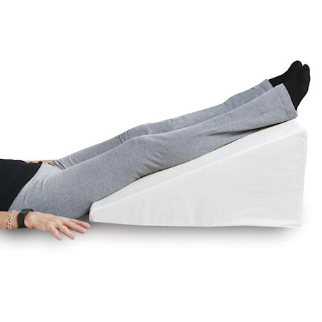"""Support Plus Bed Wedge Pillow - Memory Foam Cushion & Cover - Large 12.5"""" High"""
