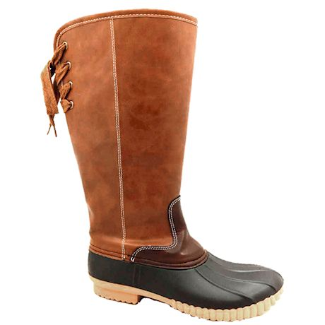 Avanti Heather Wide Calf Duck Boot - Knee High with Lining