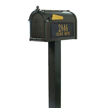 Whitehall Premium Mailbox and Post Package