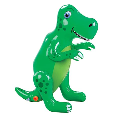 Etna Inflatable Dinosaur Sprinkler - Fun Outdoor T-Rex Water Toy, Lawn and Garden Accent