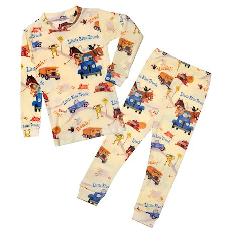 Books to Bed Children's Little Blue Truck Pajama