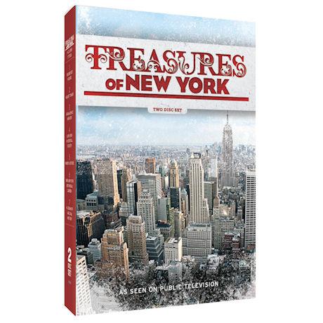 Treasures of New York DVD
