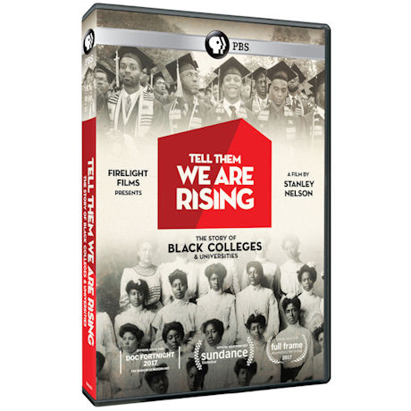 Tell Them We Are Rising: The Story of Historically Black Colleges and Universities DVD & Blu-ray
